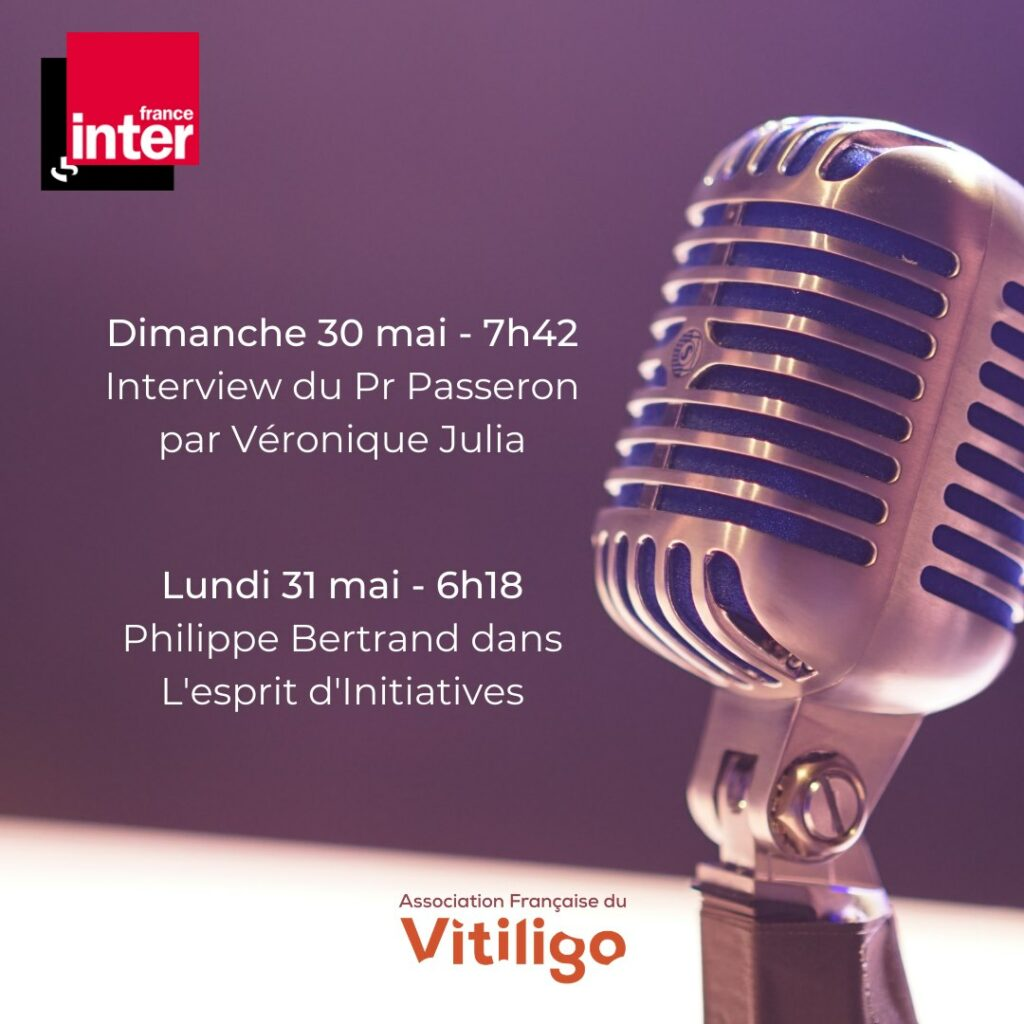 Vitiligo sur France Inter
